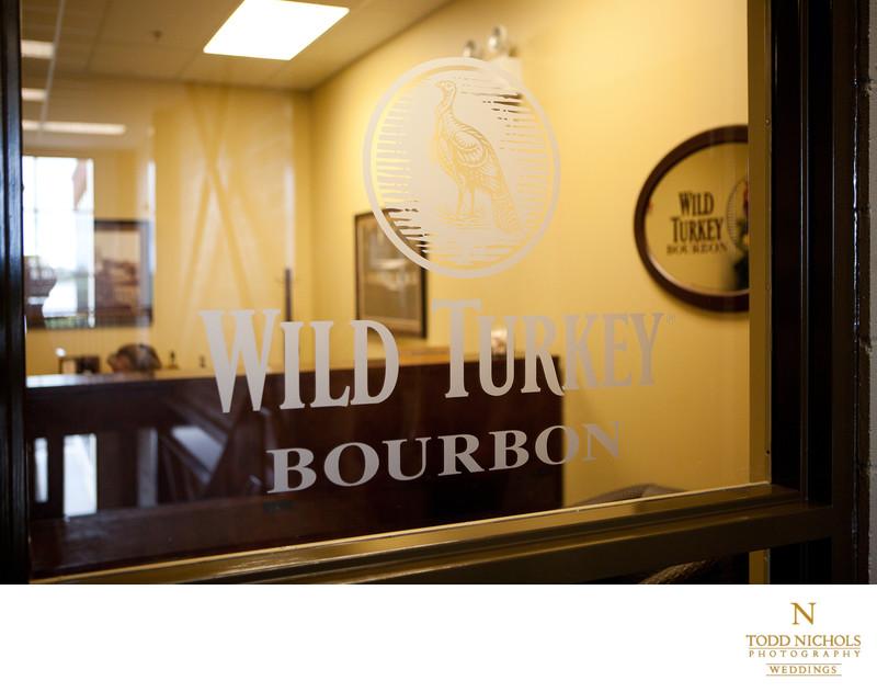 Wild Turkey Office Door