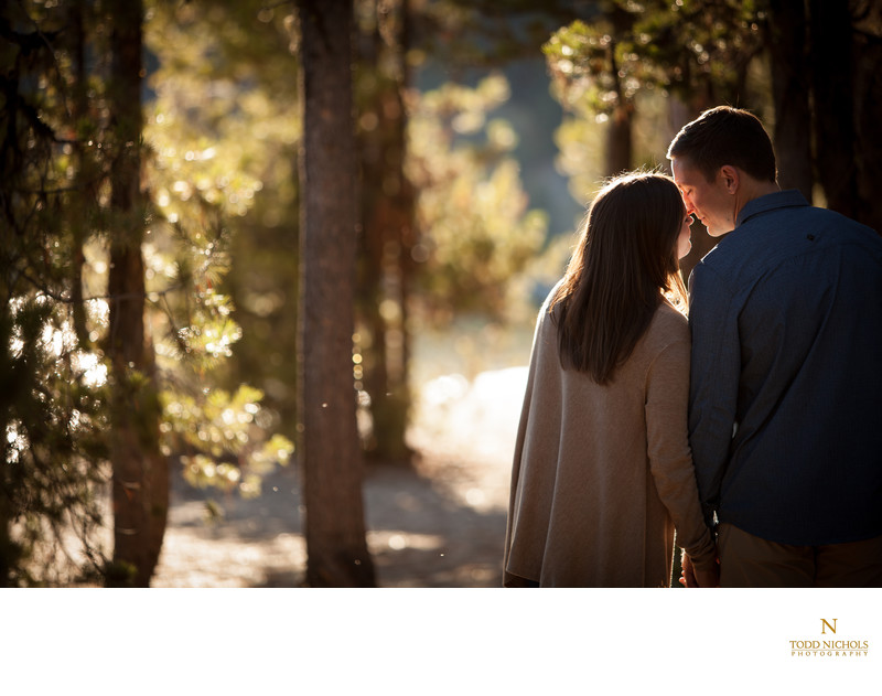 Engagement Session At Payette Lake With Andi and Zack