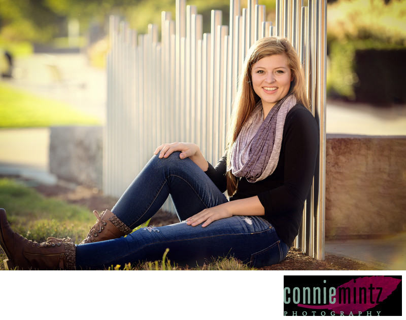 Portland Oregon senior portraits in outdoor settings