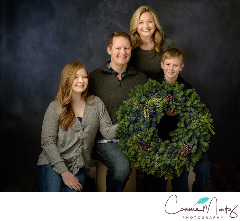 Studio Family Holiday Portraits