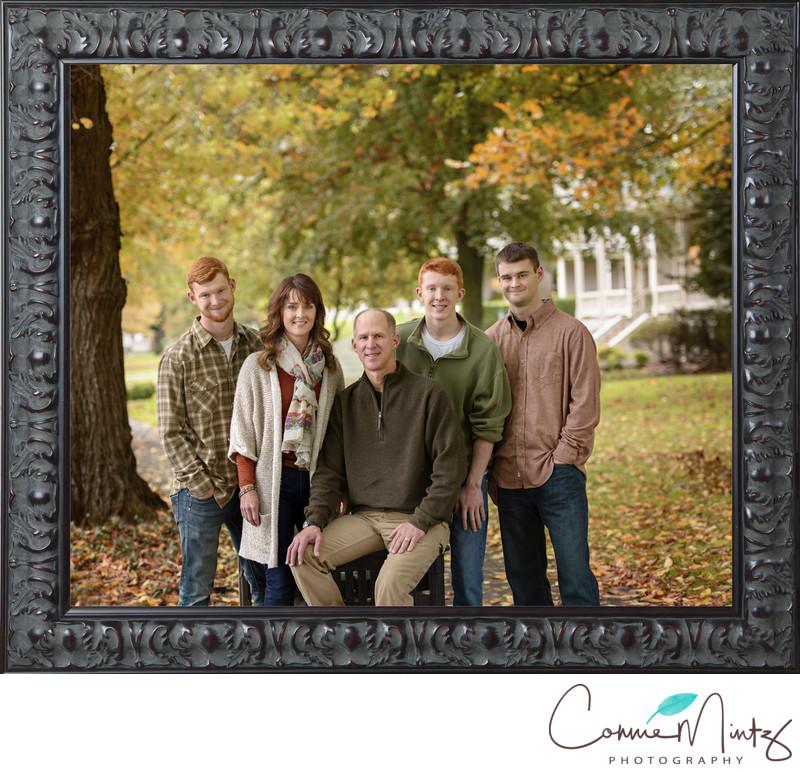 Family Portrait Framed