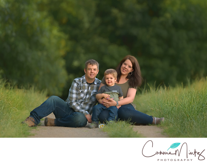 Family Photography with two year old in Vancouver WA
