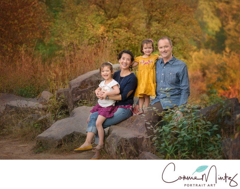 Fall Family photos Connie Mintz Portraits Battleground, WA