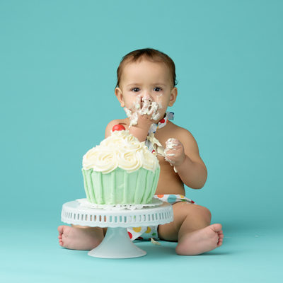 Cake Smash One Year Old Photo Session