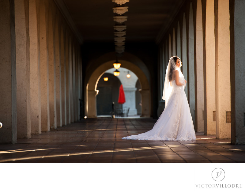 Wedding Photographs at Balboa Park
