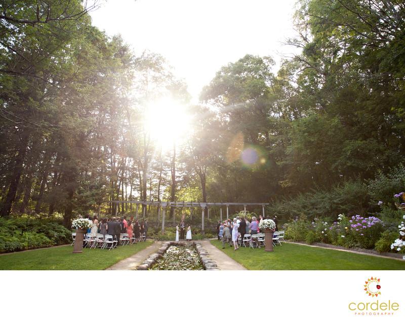Outdoor Wedding Ceremony Photos Massachusetts