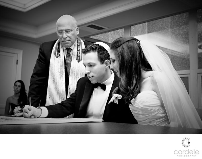 Temple Israel Wedding photos