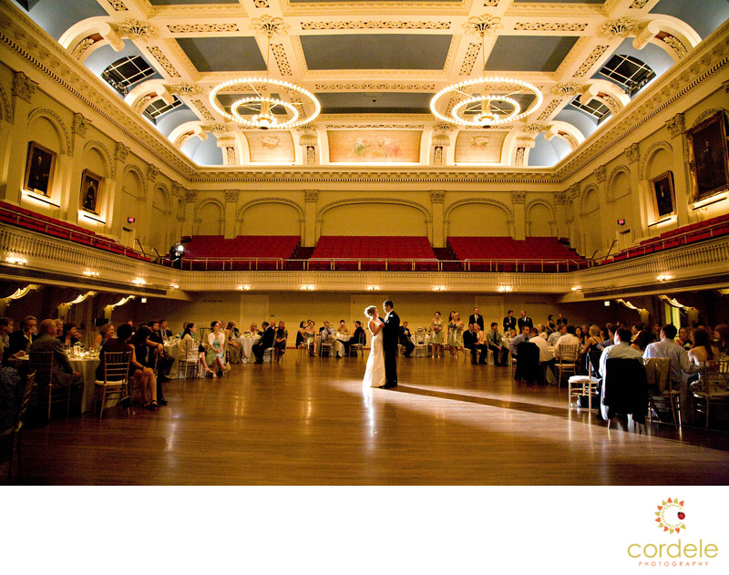 Mechanics Hall Wedding Photos