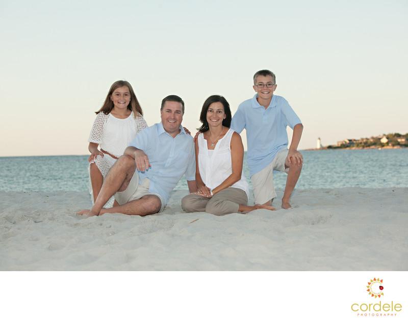 Good Harbor Family Beach Photos