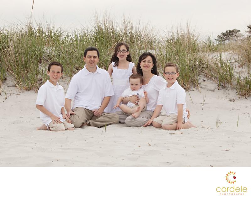 family beach photos ipswich