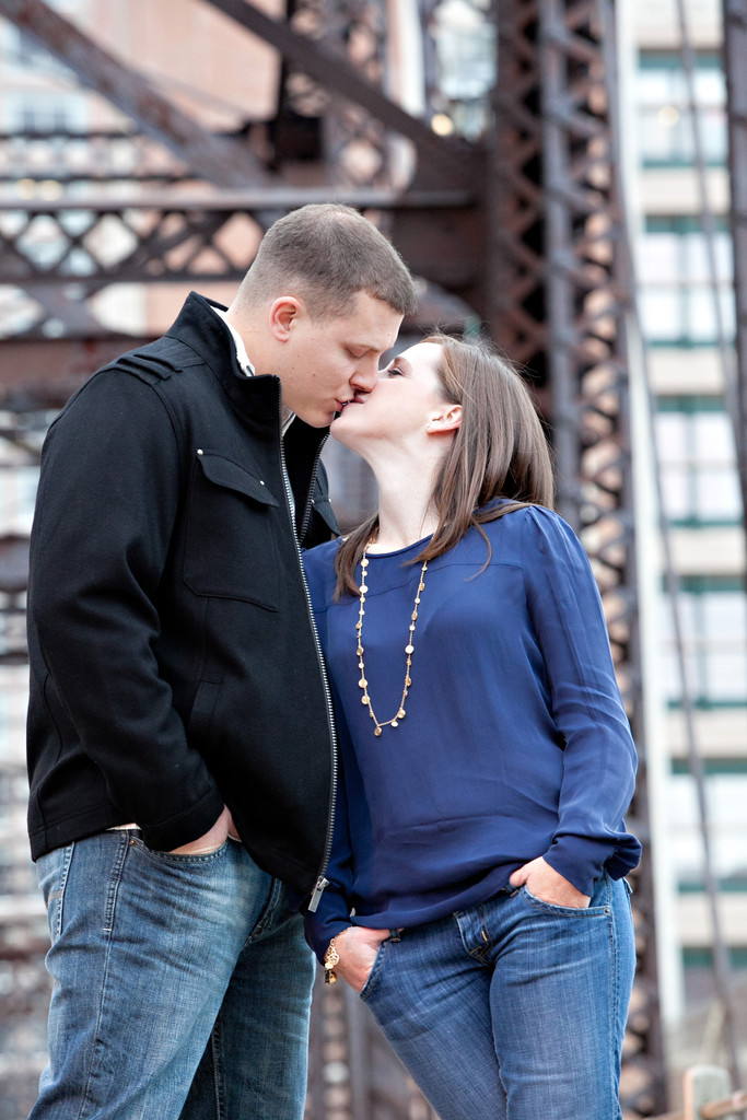 North End Engagement Photos