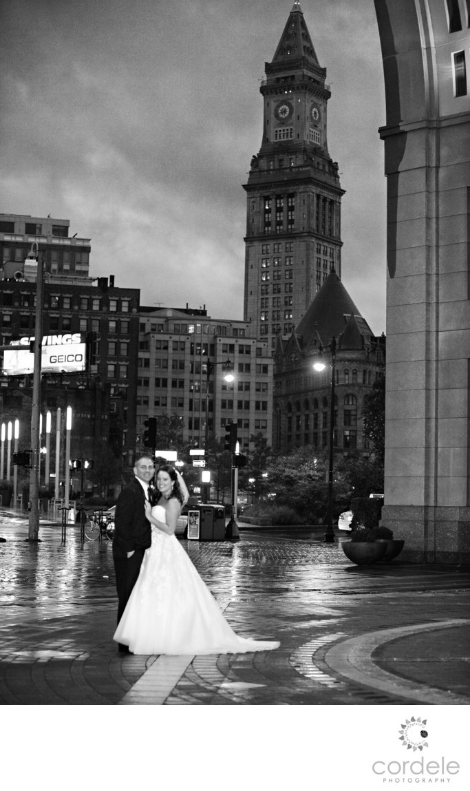 Boston Harbor Hotel Wedding Photos
