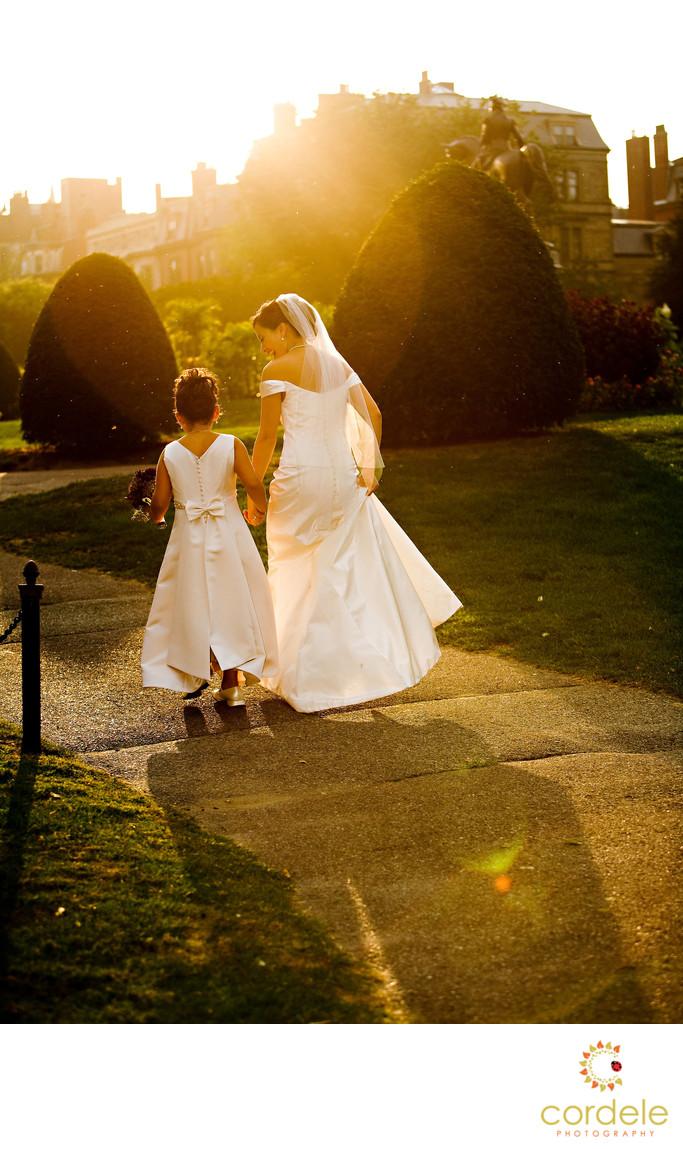 Boston Public Gardens Wedding Photos