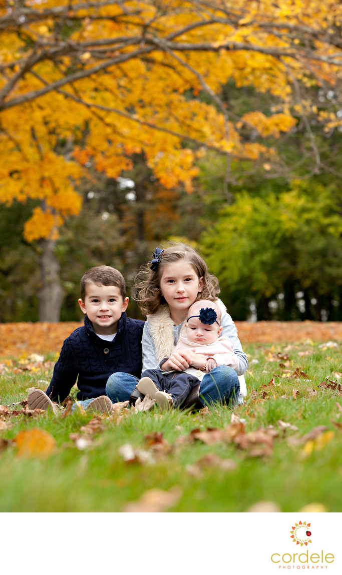 Fall Kids Photos Boston