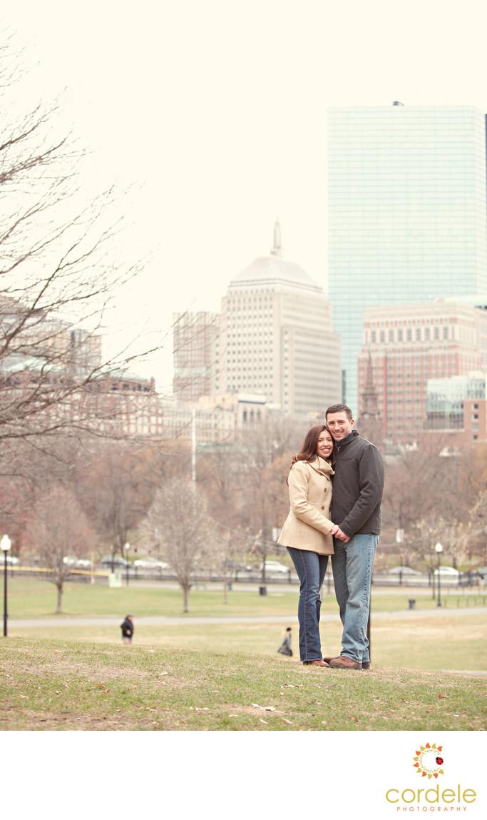 Boston Common Engagement Photos