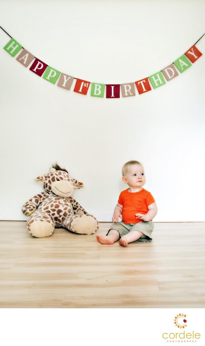 Cake smash babys first birthday andover ma