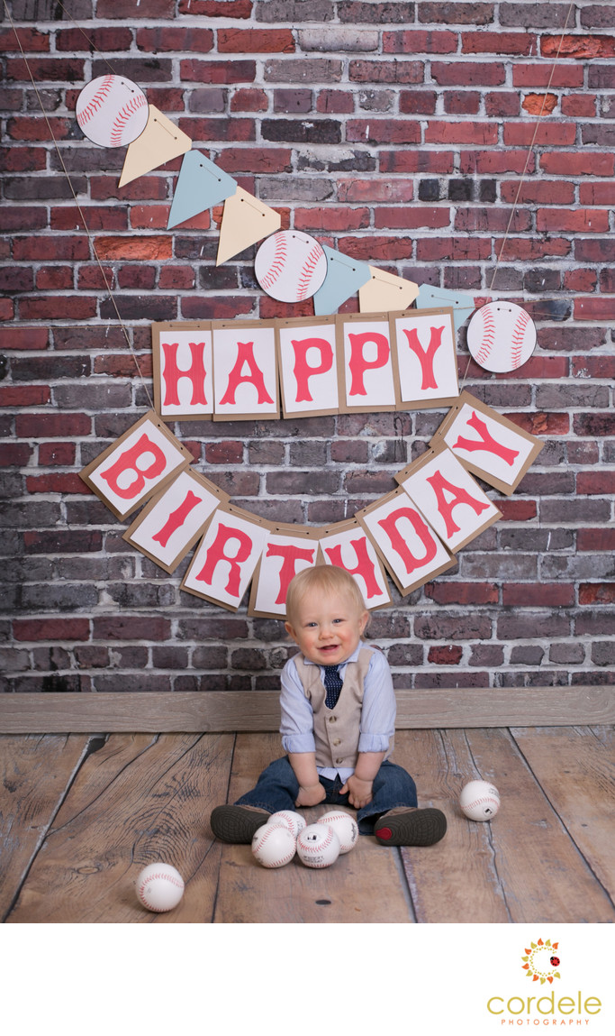First Birthday Photographer Lynnfield Massachusetts