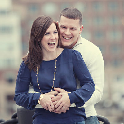 Waterfront Boston Engagement Photos and Weddings