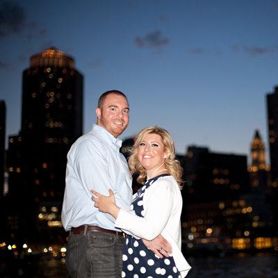 Engagement Photos Sunset Boston