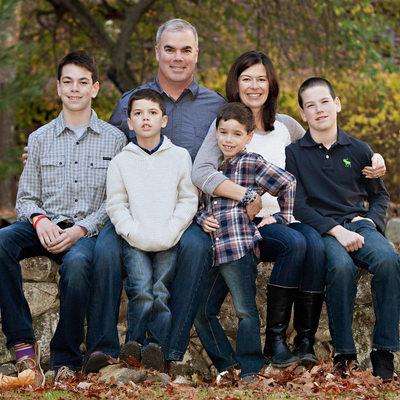 Family Photos Fall Boston