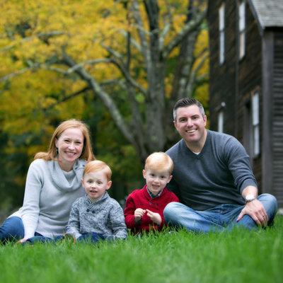 Lexington Massachusetts Family Photographer