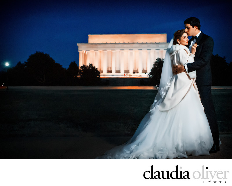 Lincoln Memorial Washington DC Wedding Photography