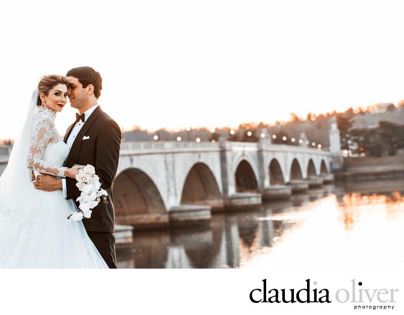 Key Bridge Wedding Photography