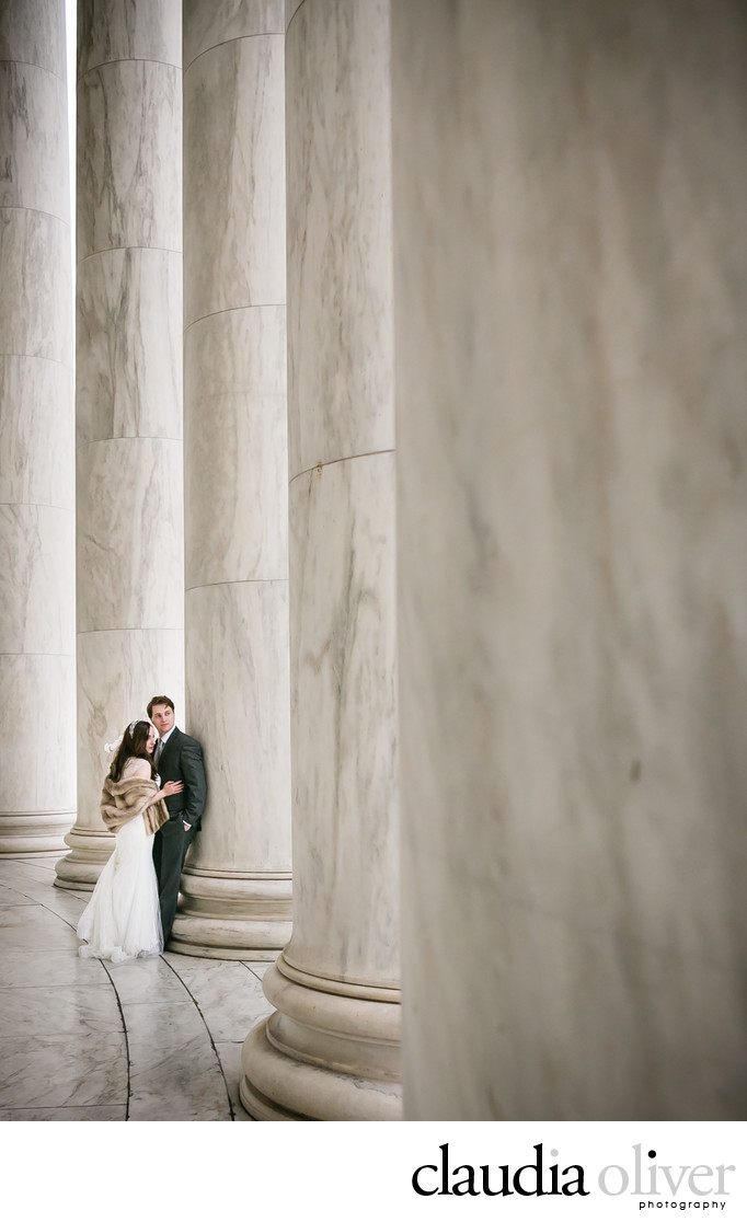 Thomas Jefferson Memorial Wedding Photos