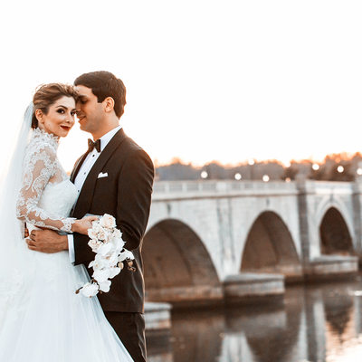 Key Bridge Wedding Photography