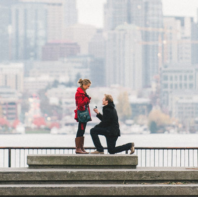 Seattle Proposal Photography