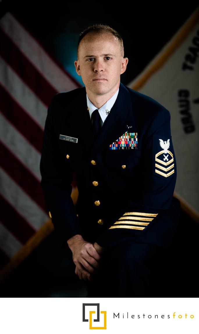 Military portrait US Coast Guard