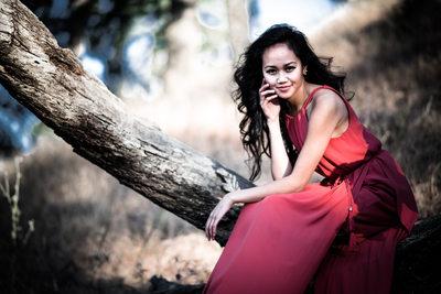 Round Valley Red Dress