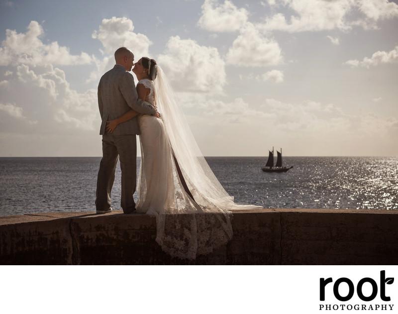 Marriott Beach Resort Frenchman's Reef Wedding