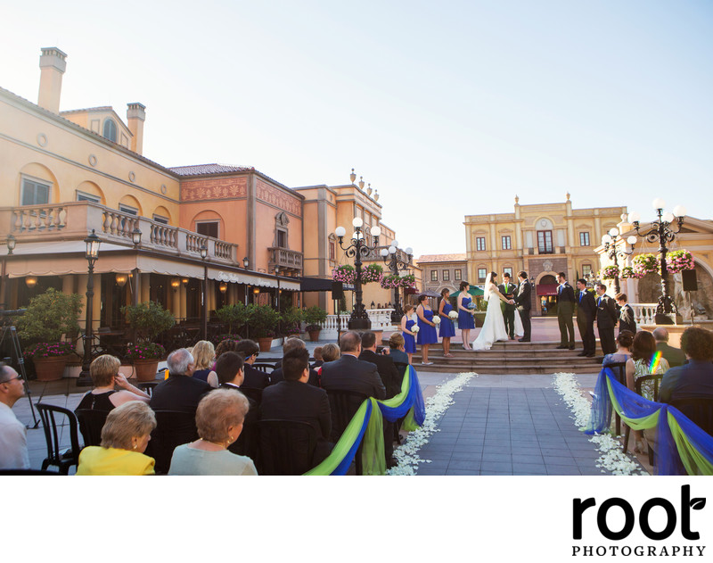 Disney Epcot Italy Wedding