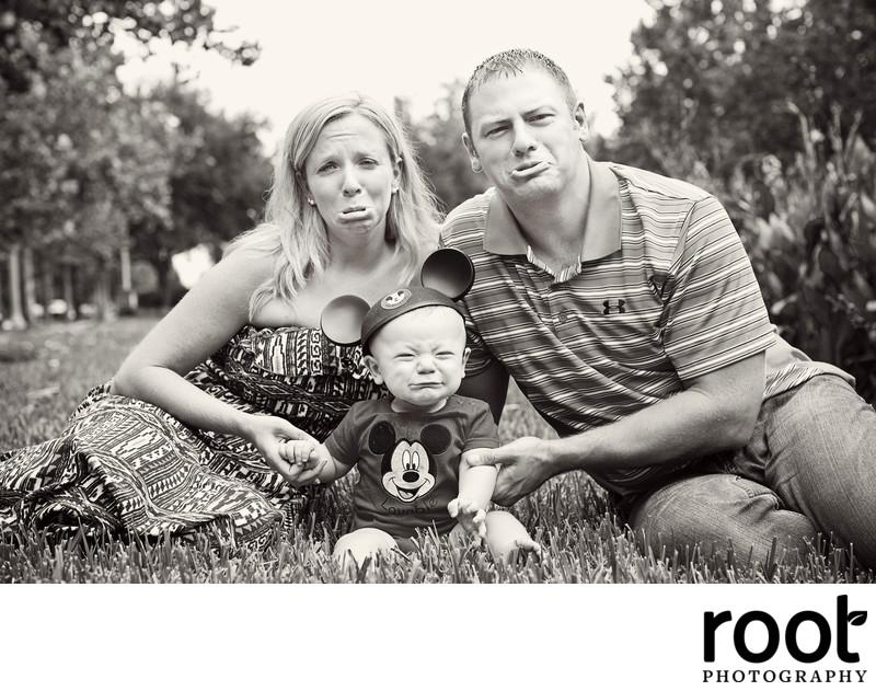 Silly Family Portrait in Celebration, FL