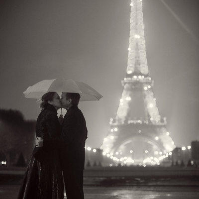 Eiffel Tower Destination Wedding Photographer