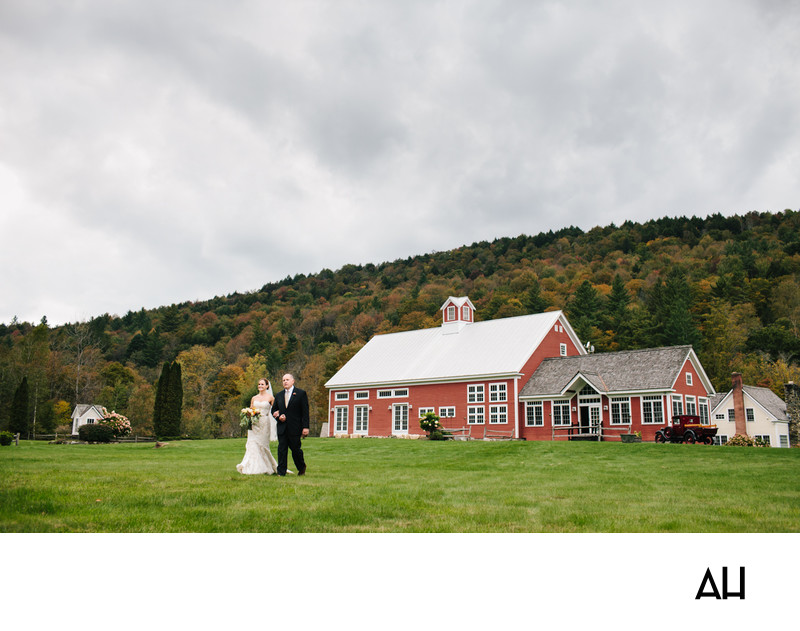 VT Barn Wedding Photographer
