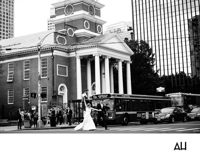 Church Wedding in Hartford CT