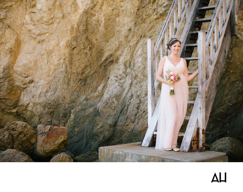 Beach Wedding in Malibu