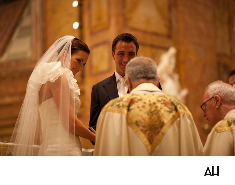 Church of Saint Ignatius Loyola Wedding