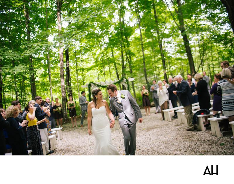 Rustic Weddings in Maine