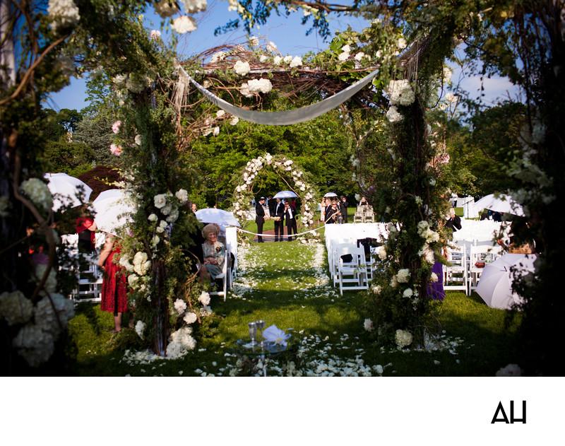 Wave Hill Wedding Pics
