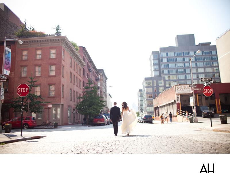 Tribeca Rooftop Wedding