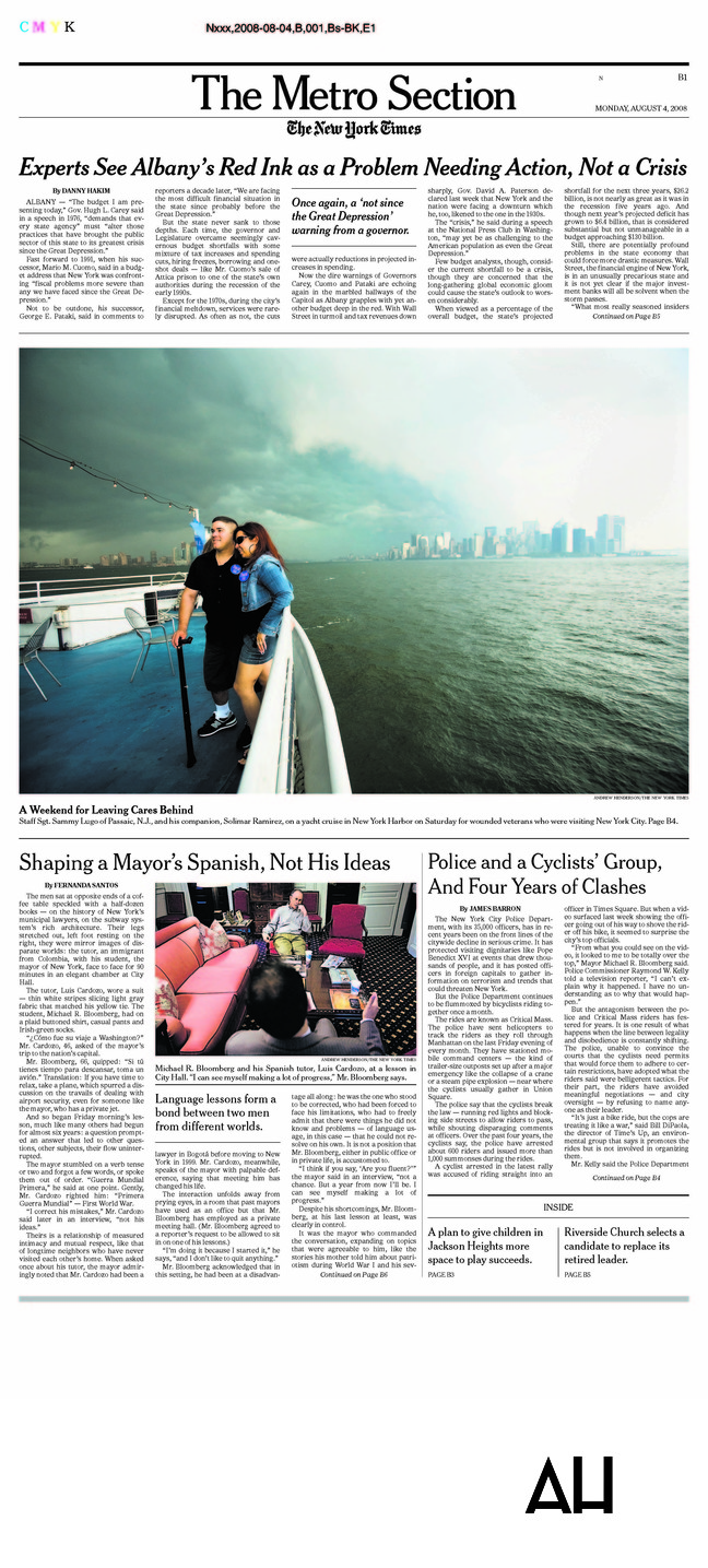 New York Times Photo Intern