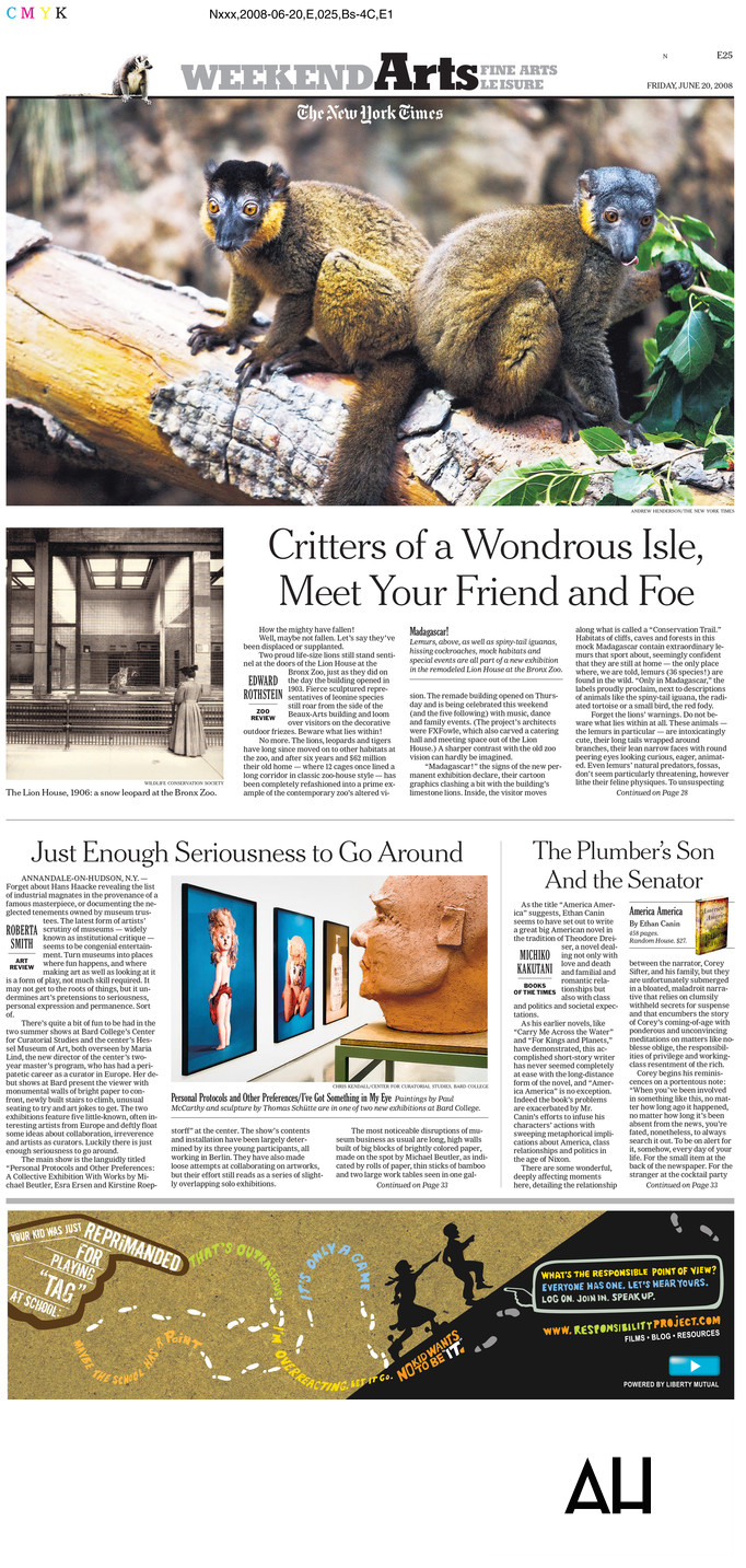 New York Times Arts