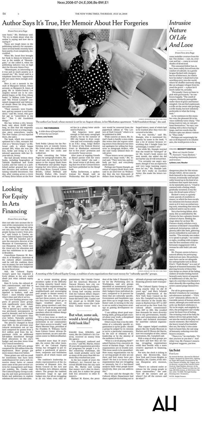 New York Times Portraits