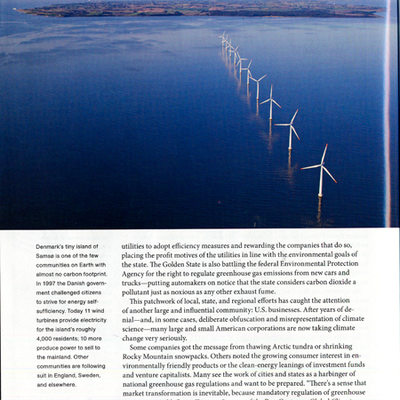 National Geographic Windturbines