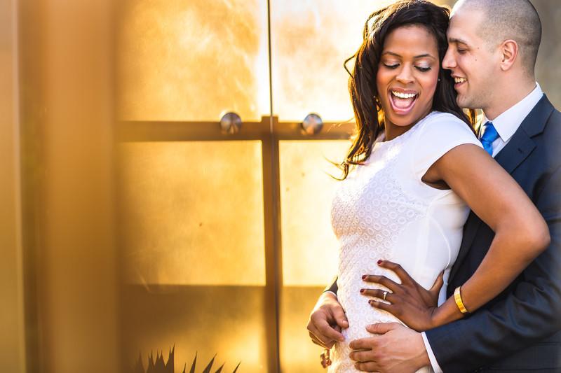 Hyatt resort at Gainey Ranch Engagement Photos - Best Scottsdale Wedding Photographers - Ben and Kelly Photography