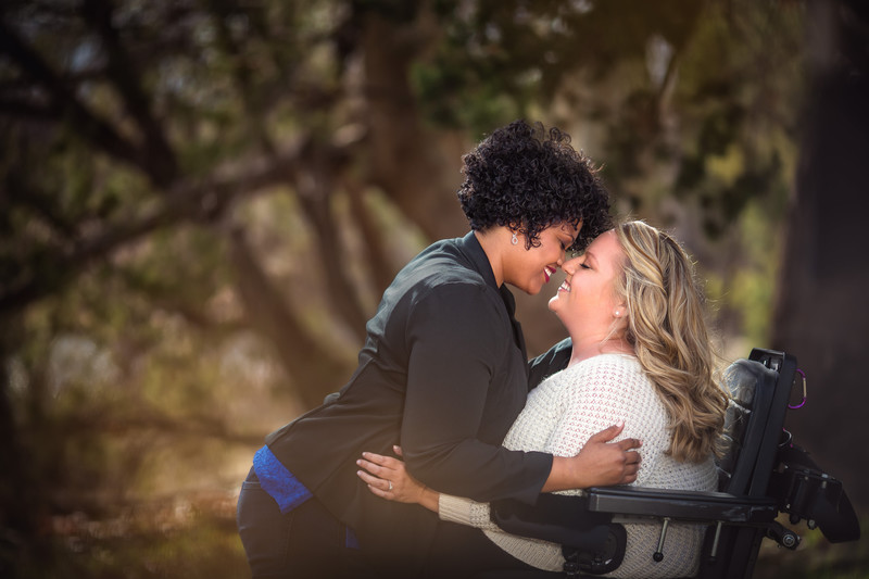 Same Sex Engagement Photos at Red Rock Crossing in Sedona Arizona - Best Phoenix Wedding Photographers - Ben and Kelly Photography