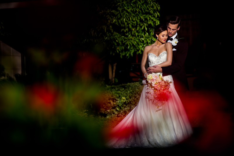 Bride and Groom in Scottsdale - Scottsdale Arizona Weddings - Ben and Kelly Koller
